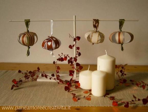 Famoso Tutorial: palline per l'albero di Natale..di carta! - Pane, Amore  WV97