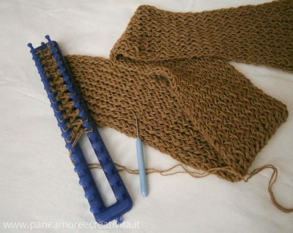 Favorito Il mio scaldacollo a maglia fatto con il telaio e la lana  CW61