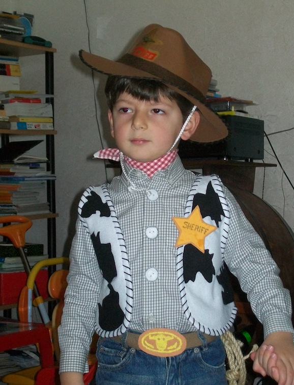 costume da woody toy story