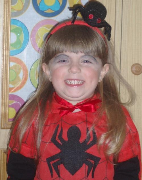 Idee di carnevale: il costume da spider (femmina)