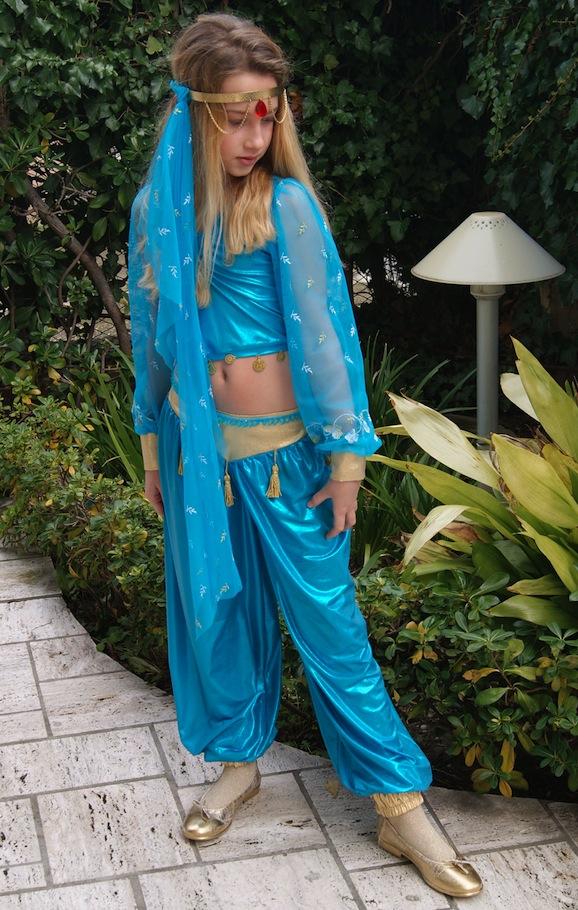 Idee di carnevale: il costume da Jasmine di Alladin
