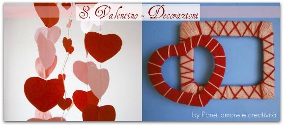 Lavoretti di san valentino la cornice di lana e una - Decorazioni san valentino ...