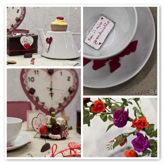 Idee romantiche per la tavola di san valentino pane amore e creativit - Decorazioni tavola san valentino ...