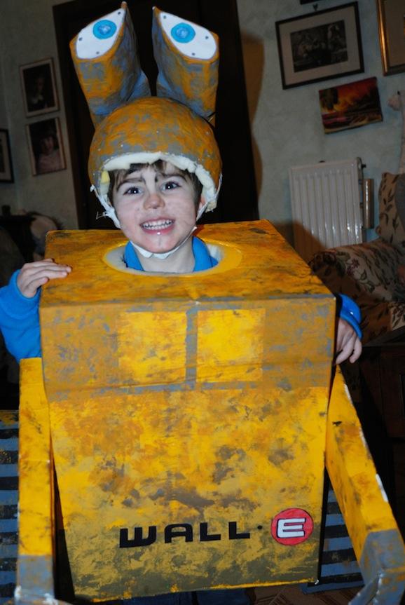 Idee per carnevale: il costume da Wall-e