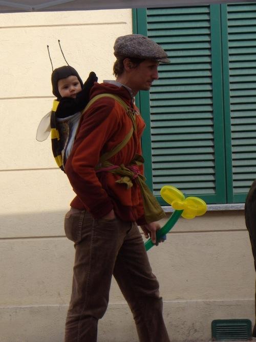 costume da ape per neonato