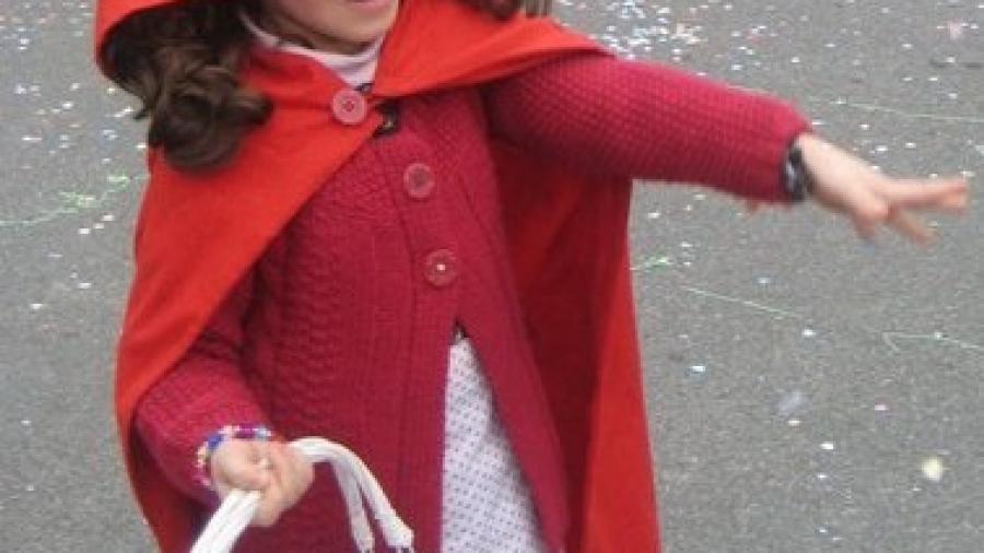 costume da cappuccetto rosso