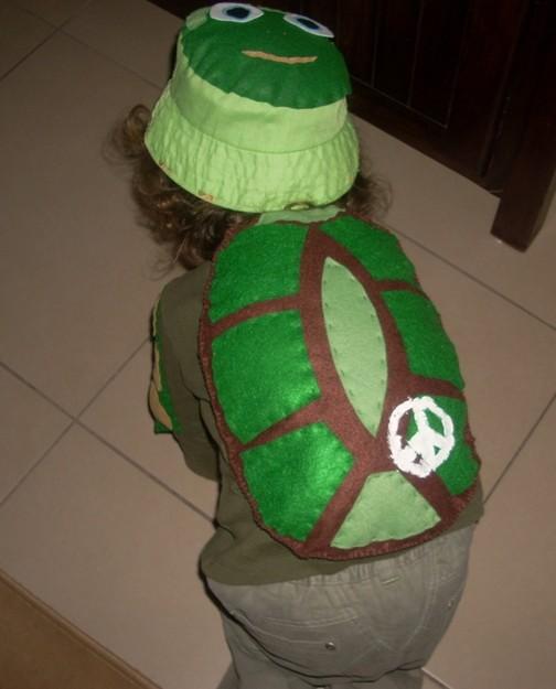 costume da tartaruga