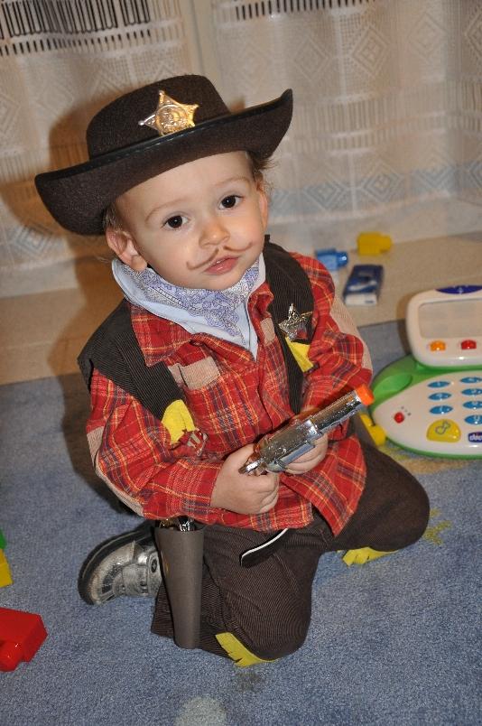 costume sceriffo