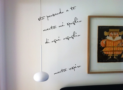 Dudecor rendi unica la tua parete pane amore e creativit for Bordure adesive per pareti