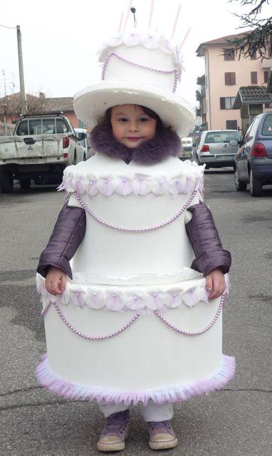vestito da torta