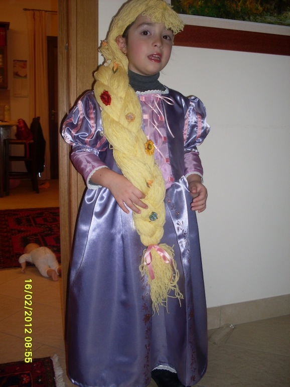 costume raperonzolo