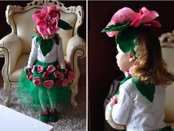 Idee di carnevale  il costume da rosa · Pane 79c54f2c1775