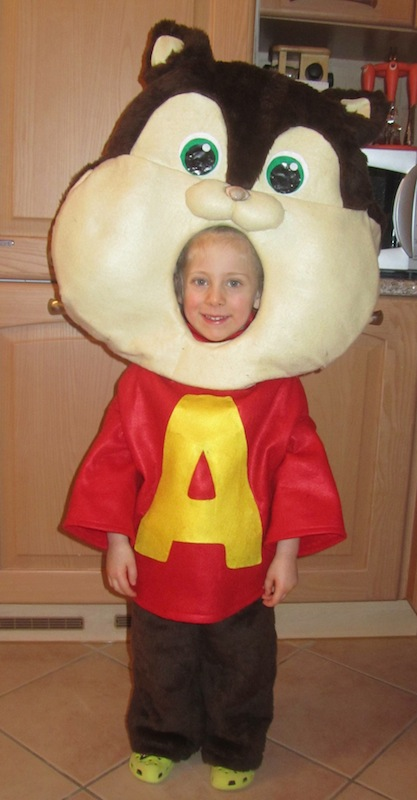 alvin costume