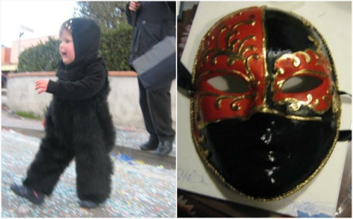 Idee di carnevale il costume da gatto di giada pane - Gatto solo in casa per 15 giorni ...