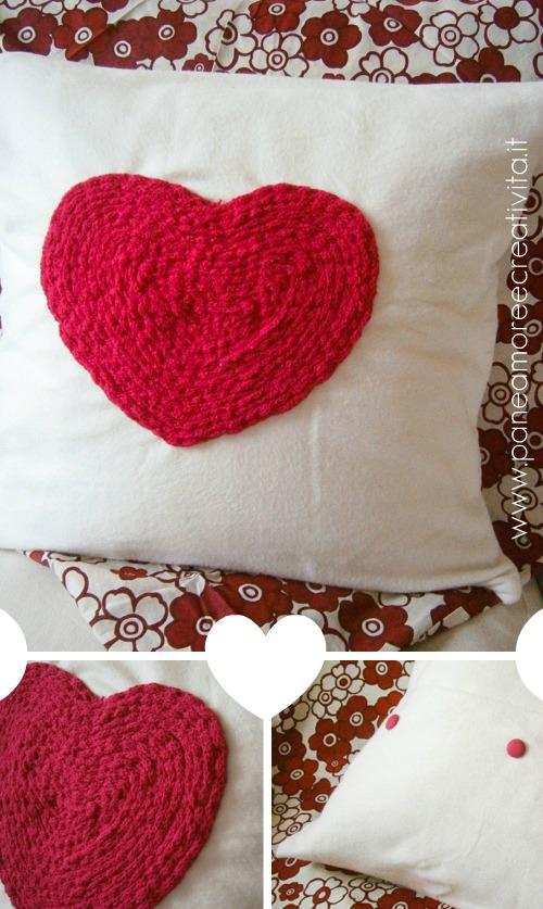 San Valentino Il Mio Cuscino Romantico Con Cuore