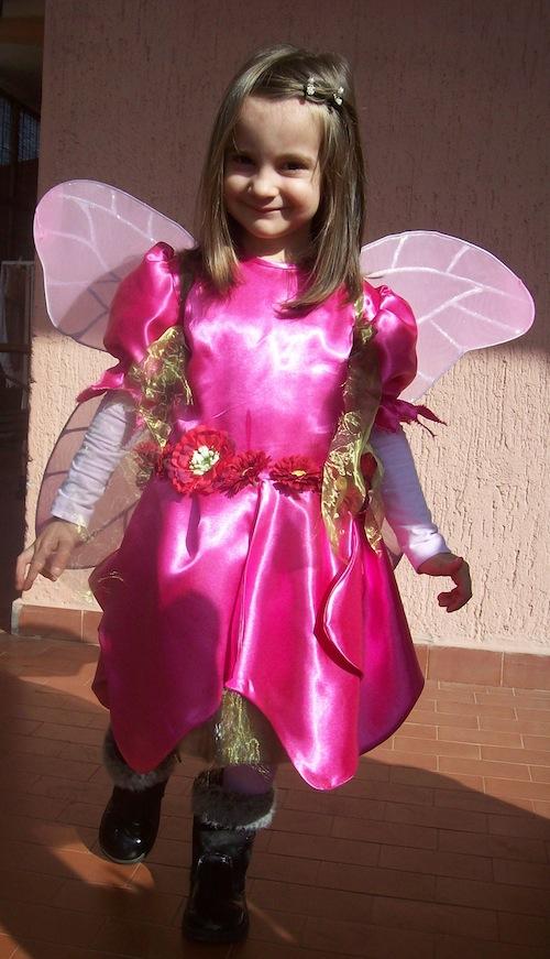 Famoso Idee di carnevale: il costume da fatina dei fiori - Pane, Amore e  VF72