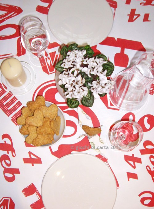 Idee per san valentino come decorare la tavola pane amore e creativit - Idee tavola san valentino ...