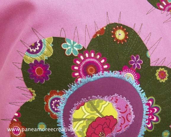 L'Atelier Bernina ad Abilmente: tanti abiti e cuscini decorati!