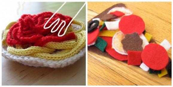 Giochi Per Bambini I Cibi Da Fare Con Carta Pasta Modellabile