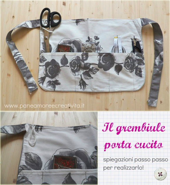 Tutorial di cucito per creare accessori complementi d for Accessori per cucito