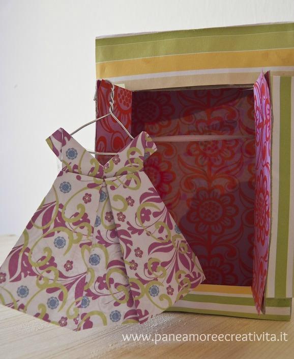 caa7ef93e5cf Abito origami. Guarda anche come fare le bustine portariso. Per acquisire  bene il ...