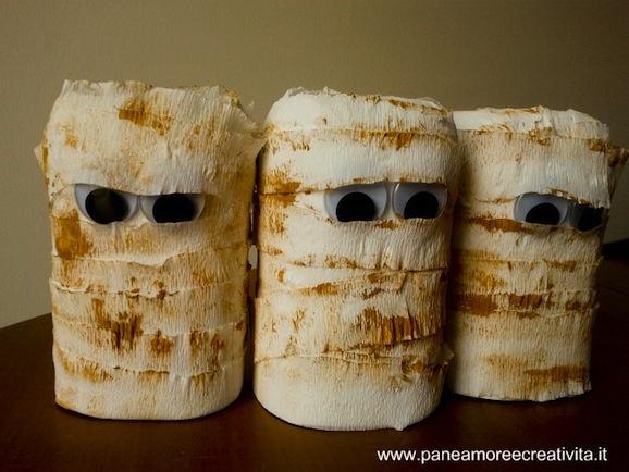 Bricolage Con Bottiglie Di Plastica.Mummie Per Halloween Fai Da Te