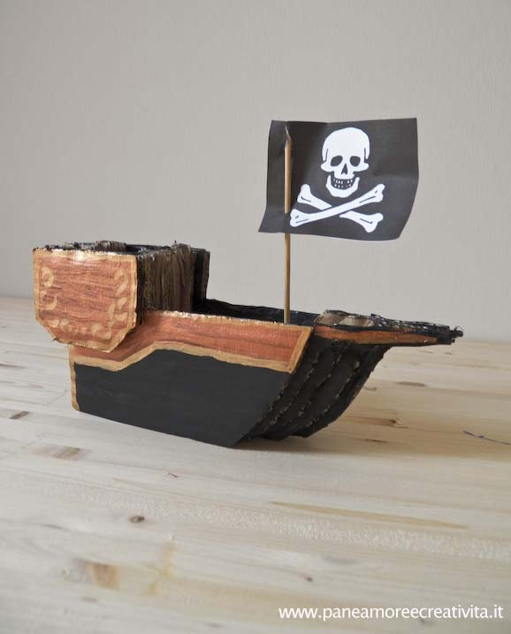 Giochi di cartone come si fa la nave dei pirati in 3d for Come si arreda una casa