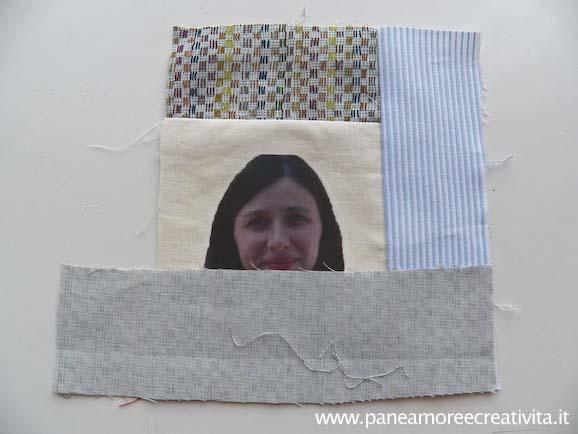 Come fare una coperta patchwork con le foto for Piccoli piani di coperta