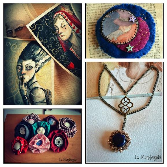 Intervista ai creativi: Irene e Flavia creatrici di bijoux e illustrazioni