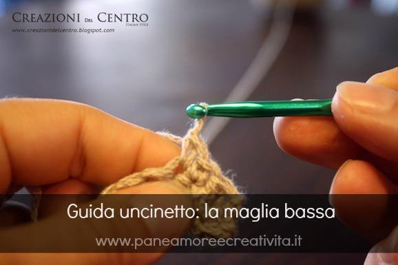 Guida uncinetto: come fare la maglia bassa