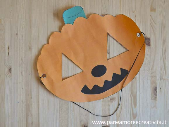 Halloween fai da te la maschera da zucca da stampare - Piscina fai da te interrata ...
