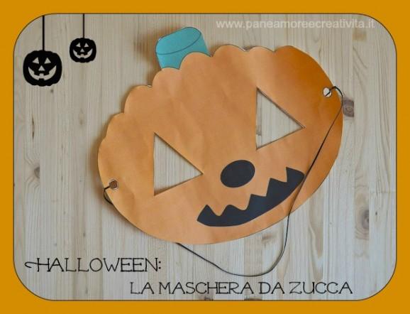 Halloween fai da te la maschera da zucca da stampare for Zucca di halloween fai da te