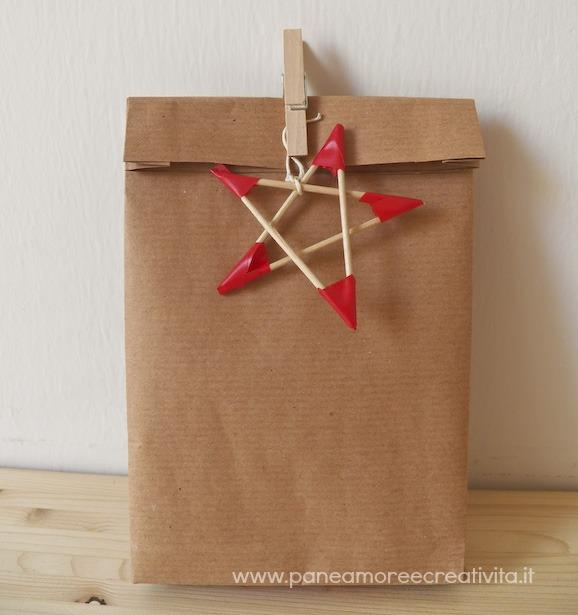 Amato Confezione regalo fai da te: come fare una busta di carta | Pane  DJ34