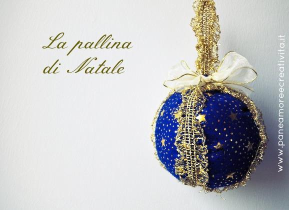 Favorito Decorazioni per l'albero: come fare una pallina di Natale in  UX31