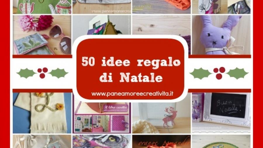 50 idee regalo natale fai da te