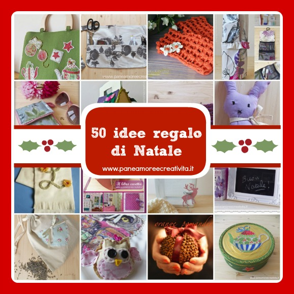 Pi di 50 idee regalo natale fai da te con tutorial for Idee per regali di natale