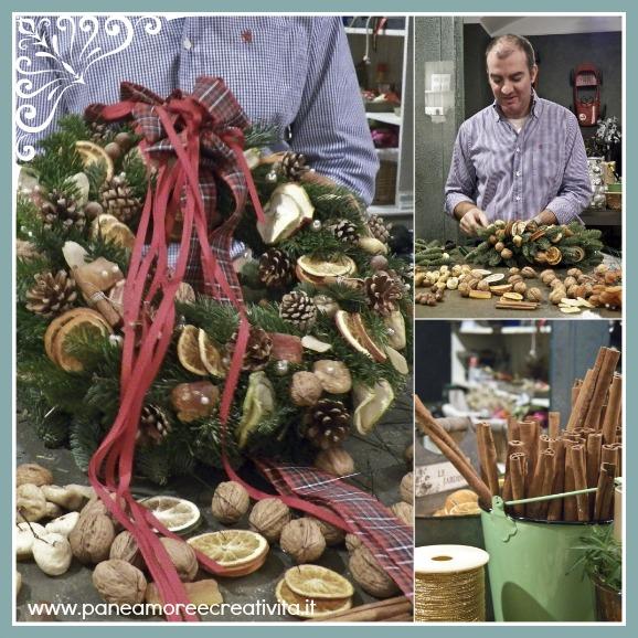 Come fare una ghirlanda di Natale con il flower designer Marco Segantin