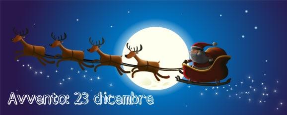 Calendario dell'avvento giorno 23: il cappello di Babbo Natale da disegnare seguendo i puntini