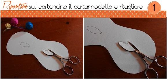 Tutorial maschera di carnevale_ritagliare_cartamodello_handmadecoulture