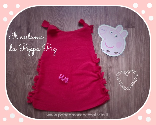 Come fare il costume da peppa pig senza cuciture · pane