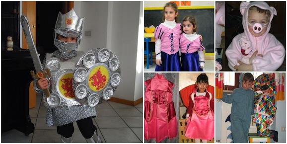 Vestito Carnevale Bambina Fai Da Te ~ Costumi di carnevale fai da te per  bambini e 9f48f7a295b