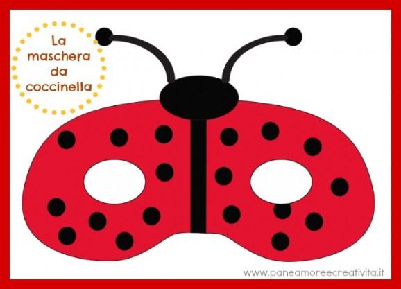 maschera-coccinella
