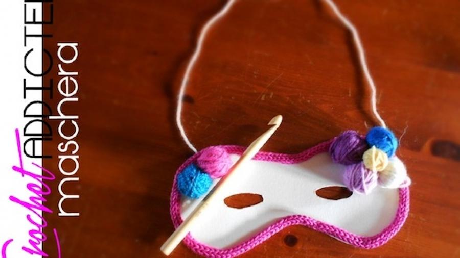 maschera crochet