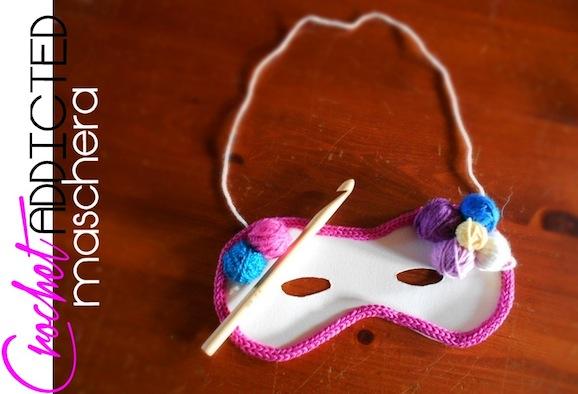 maschera di carnevale crochet addicted_vannalisascafaria