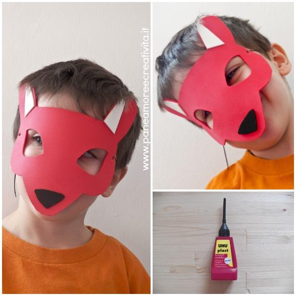 Molto Carnevale fai da te: come fare la maschera da volpe - Pane, Amore  PM85