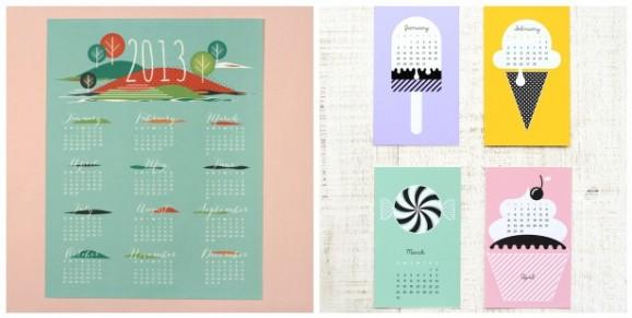 12 calendari 2013 da stampare gratis