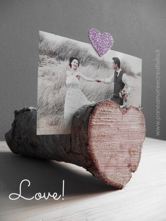 valentine photo holder diy
