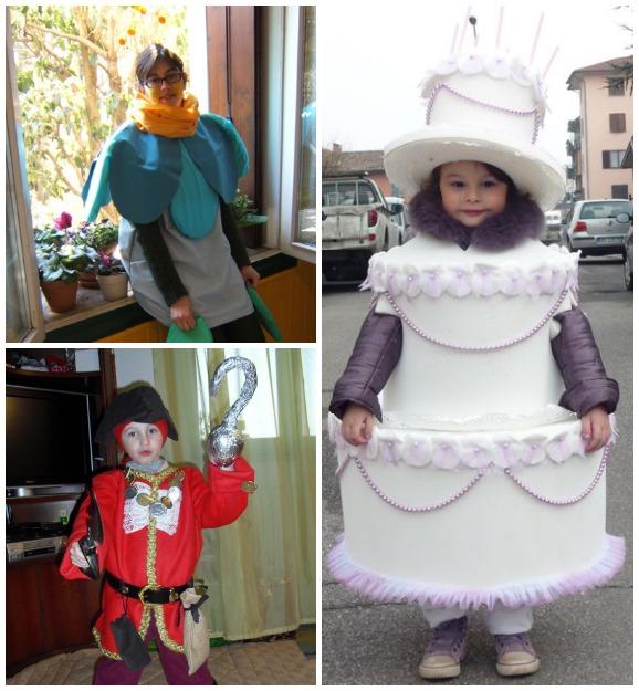 spesso 100 costumi di carnevale fai da te per bambini e adulti - Pane  FC51