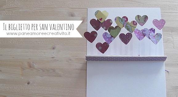 Tutorial: biglietto di San Valentino popup con cuori