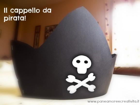 Carnevale fai da te  come fare il cappello da pirata · Pane f49b455a77b7